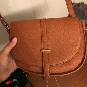 Basic brown purse bought at Nordstrom